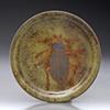 Copper Enamel Coaster Bettle Pattern