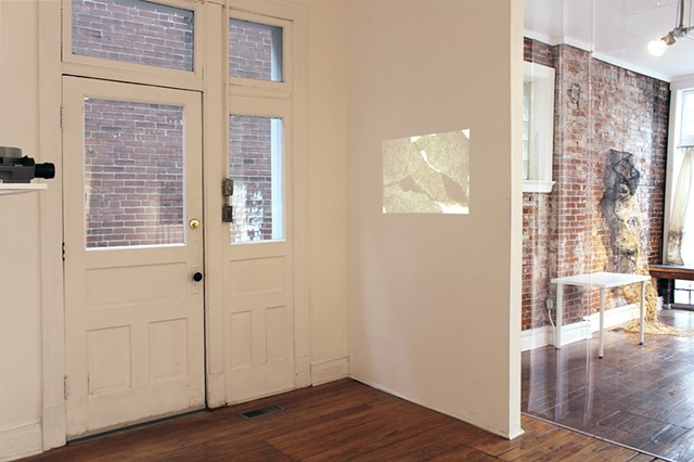 "Install shot ""Youthful Discretion"" at Flood Plain"