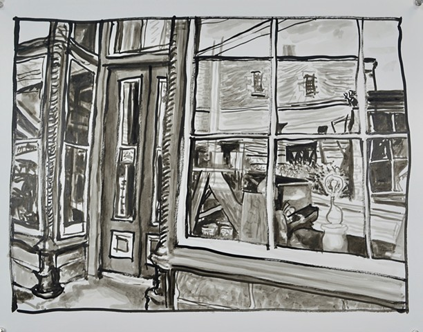 Reflections-Drawings of Mineral Point