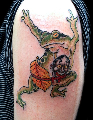 Lil tattooed toad