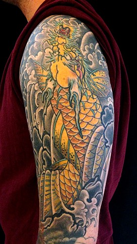 Dragon koi for Wyatt