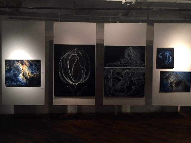 Installation shot at The Art Factory