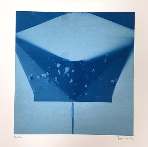 Cyanotypes: deconstructions
