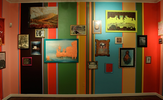 Speaking in Parables Will Get You Nowhere With This Crowd - INSTALLATION VIEW - East