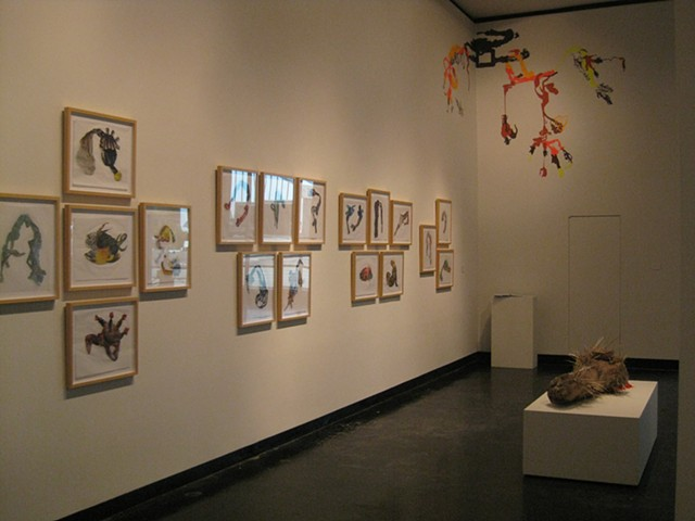 installation view of Residency Show