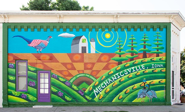 Mechanicsville Mural, 2019