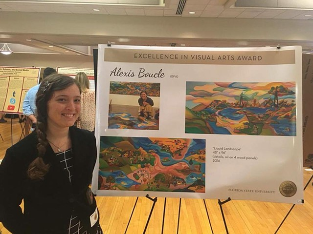 FSU Excellence in Visual Arts Award Recipient