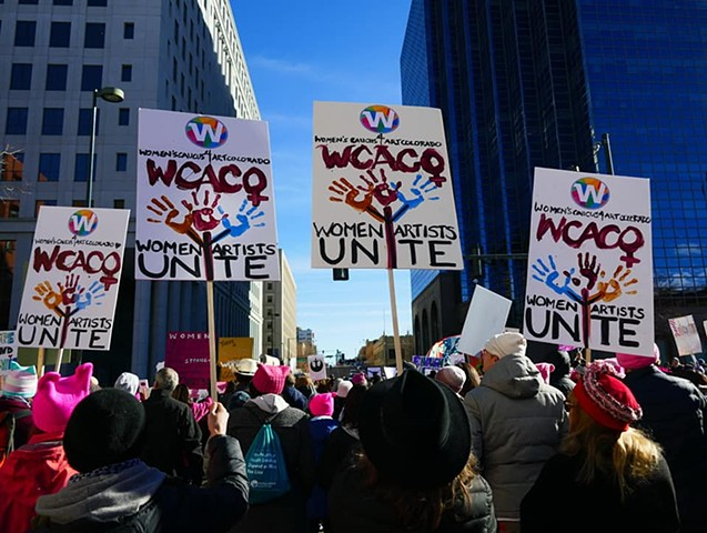 Womxn's March Denver  |  January 19, 2019
