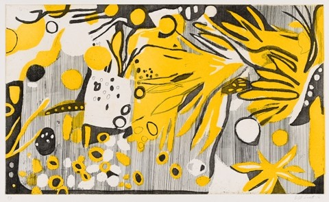 """""""Late October-Yellow and Black"""""""