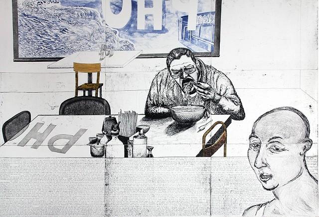 Fall: Artist Eats Pho  2011