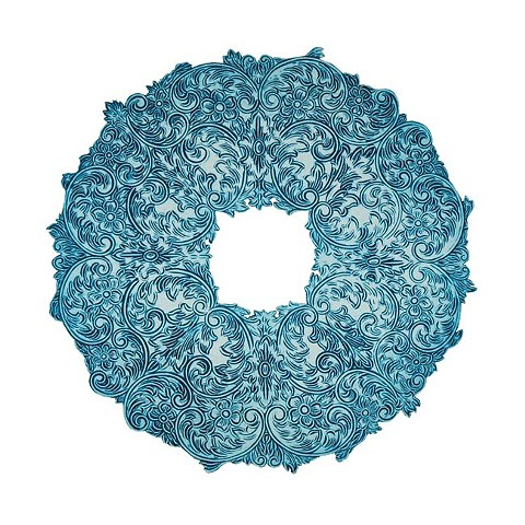 Silver Plate Series (Hartford Silver Company in Turquoise)  2011