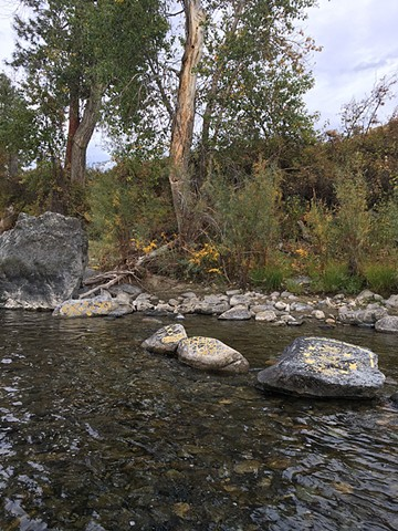 Pattern of Healing, Balancing, and Gratitude for the Methow River, Methow People, and Salmon
