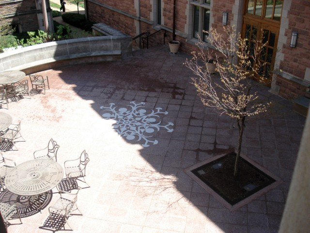 Earth Week, Brown School, St. Louis - install, complete