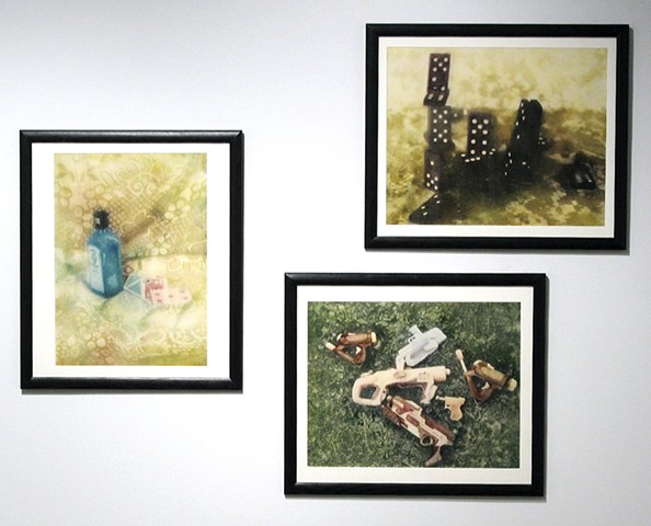 Photographic oil prints by E.E. Smith