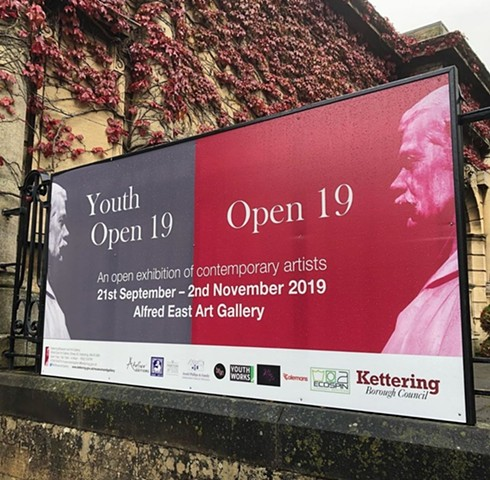 Artwork in the Kettering Open 19 exhibition