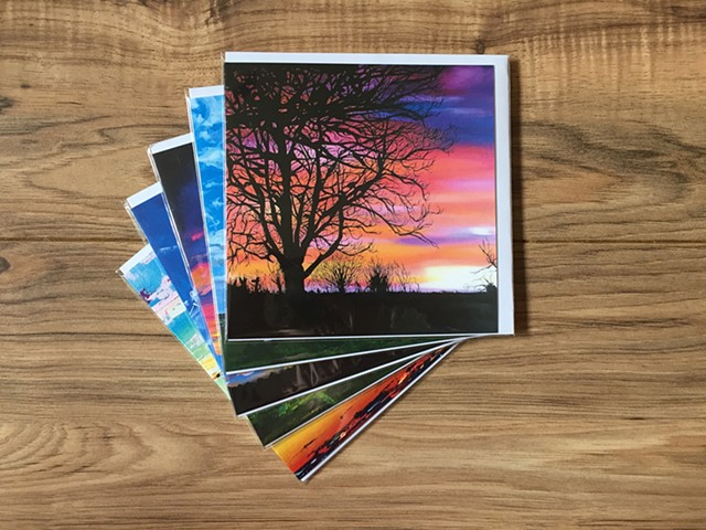 Pack of 5 assorted cards