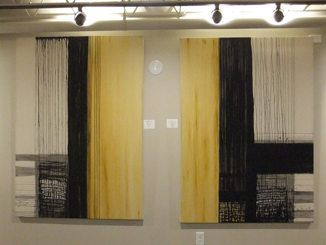 """THROUGH THE SCREEN DOOR"" SOLO SHOW THE DEZMOND ROOM"