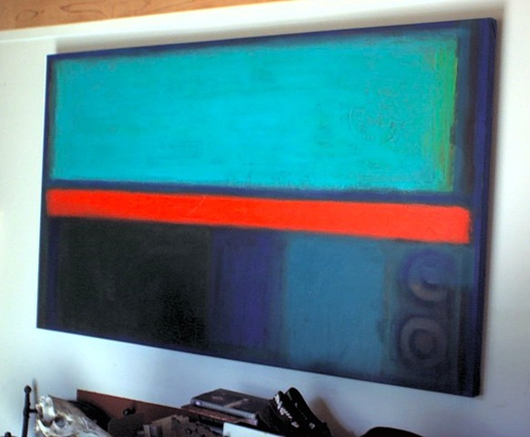 """CIRCLES AROUND ROTHKO""  (34 x 56 1/4"")"