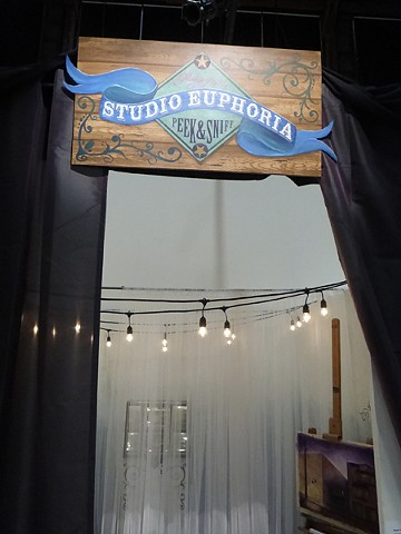 signage, Studio Euphoria, A PLACE OF HER OWN, SOMArts 2015, san francisco, maggieyee