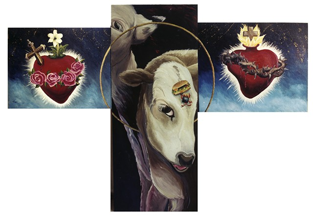 Holy Icons, Holy Cows, Sacred Hearts and an American favorite.
