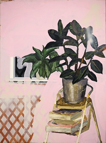 Pink Apartment Painting