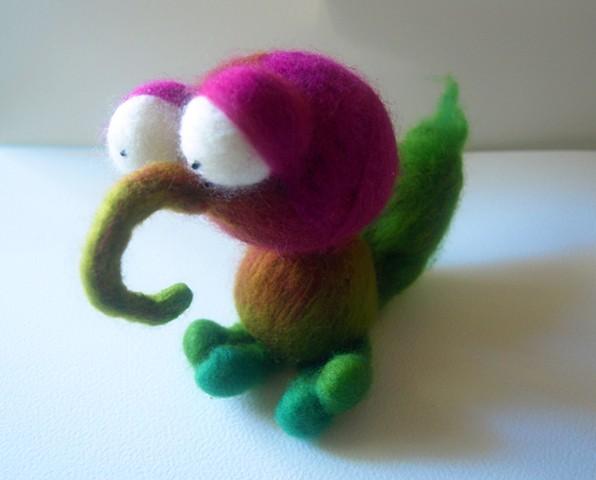 Joe - Needle Felted Creature
