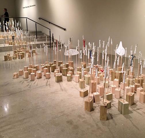 Floor Installation Sculptural work