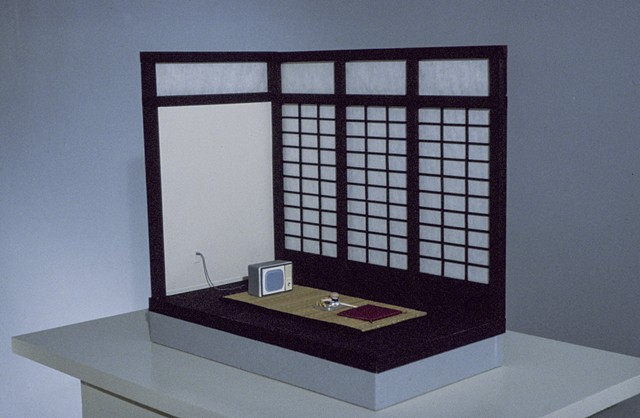 TV Dinner, Kristine Aono, Japanese American, sculpture