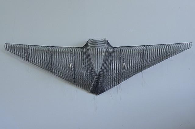 Blue Dansei, Kristine Aono, Sculpture, Kimono Series