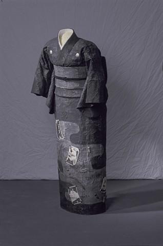 Obasan/Grandma Kimono, Kristine Aono, Sculpture, Kimono series