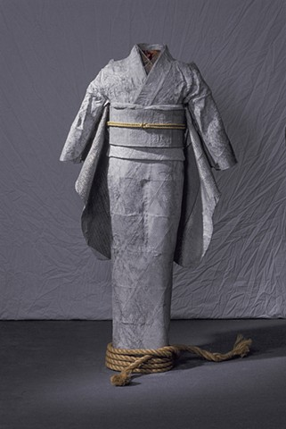 Kimono, Kristine Aono, sculpture, kimono series