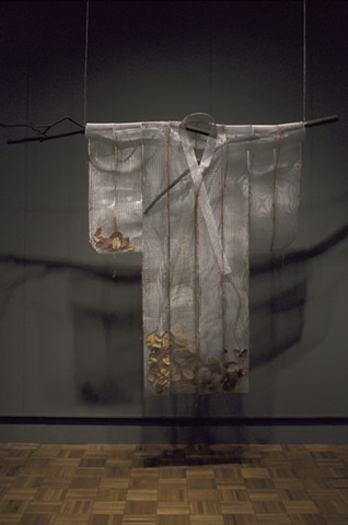 Sakura Kimono, Kristine Aono, sculpture, kimono series