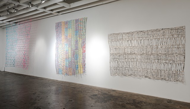 Installation view, Constructions