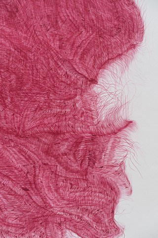 Detail, Untitled (Big Red Hot Swatch)