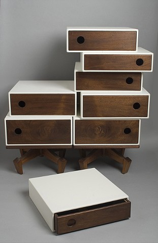 eight drawer