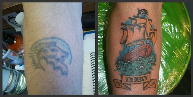 Tall Ship Cover Up
