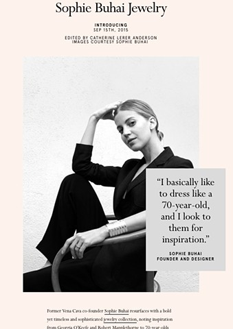 Introducing: Sophie Buhai for Bird Journal