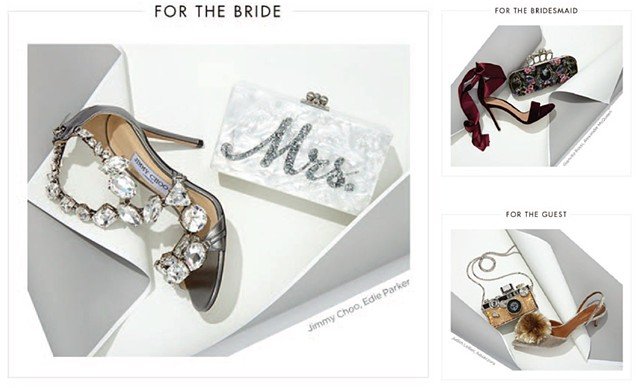 "Say ""I Do"" to the Shoe / To Have and to Hold, Saks Fifth Avenue"