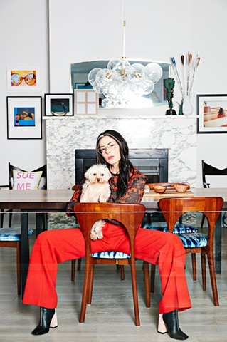 Holiday 2016 Friends and Family Campaign for Bird Brooklyn, feat. Stacy London
