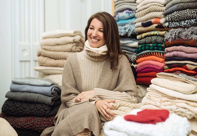 Confessions of a Knitwear Hoarder by Catherine Lerer Anderson