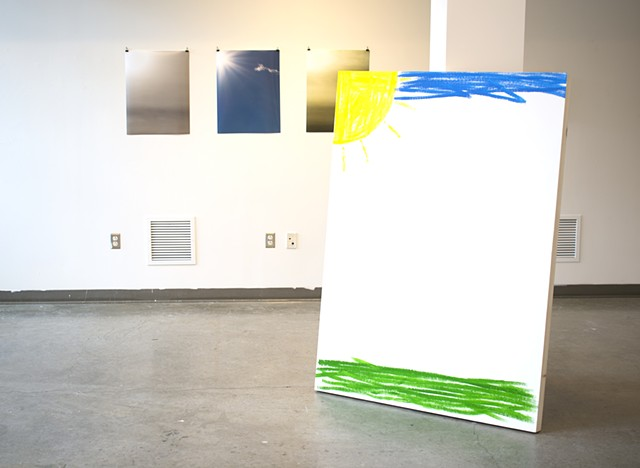 Sun in the Corner(installation view)