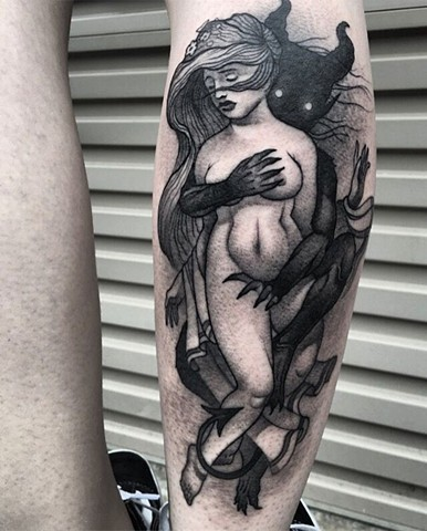 Tattoo by Daniel Danckert. Korpus Tattoo Studio, Brunswick. Melbourne