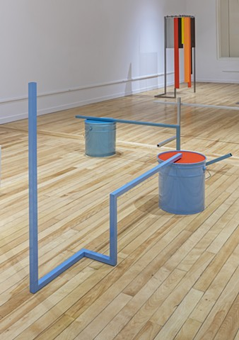 Carlo Cesta 50 Gallons, Installation View