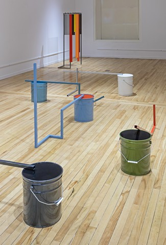 Carlo Cesta 50 Gallons Installation View