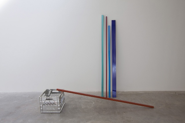 Carlo Cesta, Reserved Parking Set, Milk Crate