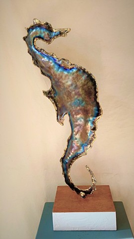 20 gauge brazed metal sculpture