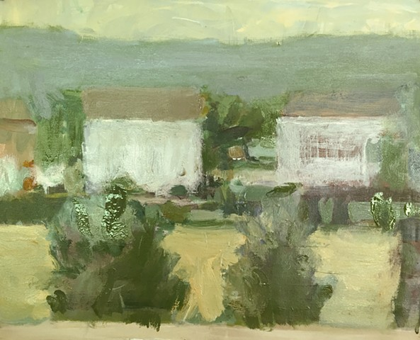 Landscape with 2 houses