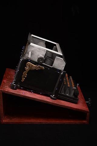 Ghost Typewriter (detail)