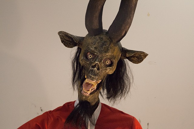 Krampus (face detail)