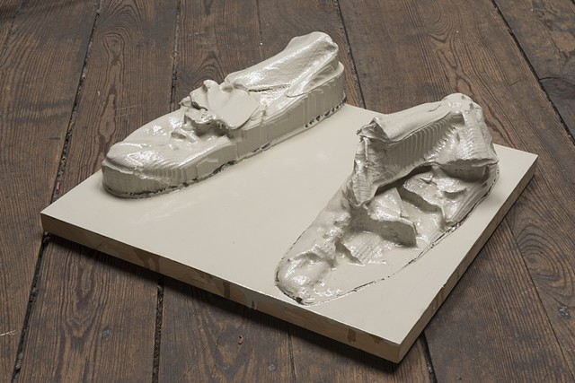 HAE'S Boxing Shoes 1939, Sioux City, Nebraska To San Francisco, California, (big version)